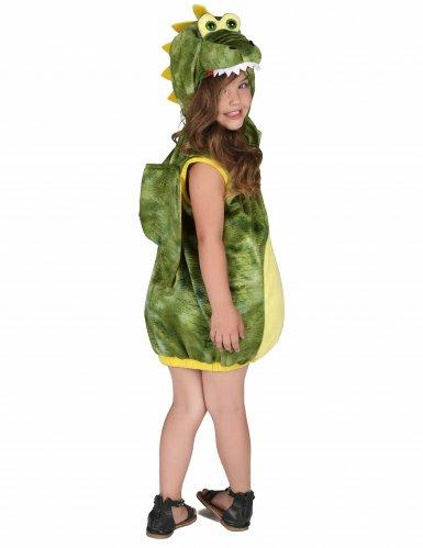 Costume da dinosauro verde per bambino-2