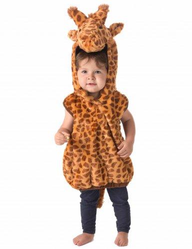Costume smanicato da giraffa per bambino-1