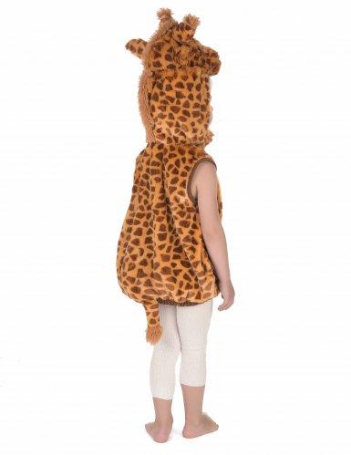 Costume smanicato da giraffa per bambino-3