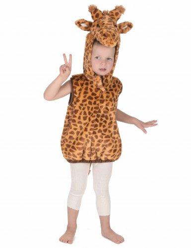 Costume smanicato da giraffa per bambino-4