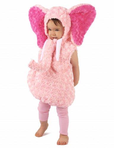 Costume da elefante rosa per bambino