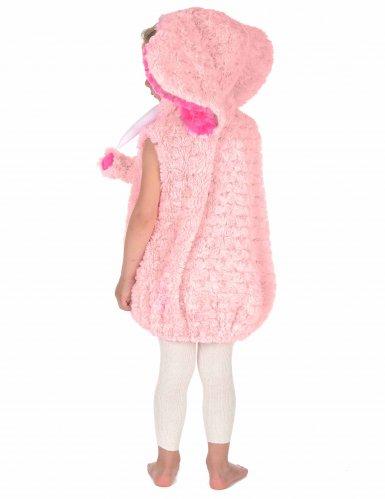 Costume da elefante rosa per bambino-3