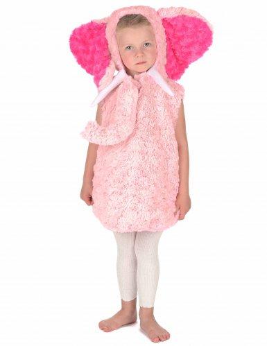 Costume da elefante rosa per bambino-4