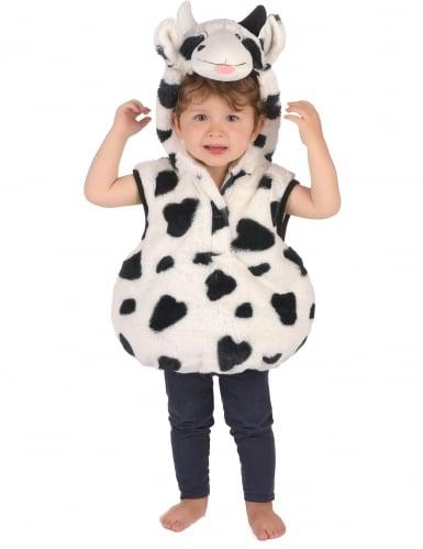 Costume da mucca peluche per bambino