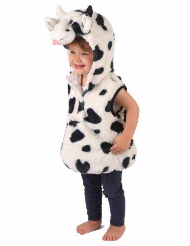 Costume da mucca peluche per bambino-1