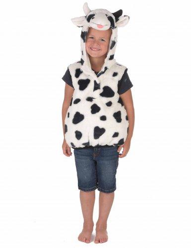 Costume da mucca peluche per bambino-2