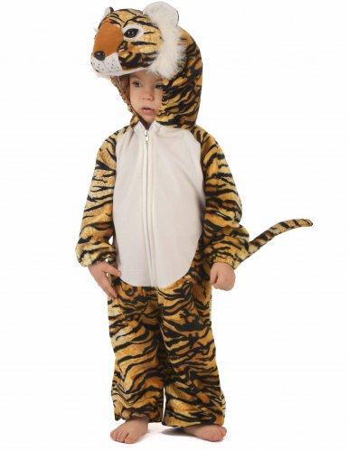 Costume da Tigre peluche per bambino-1