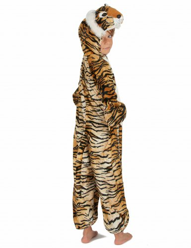 Costume da Tigre peluche per bambino-3