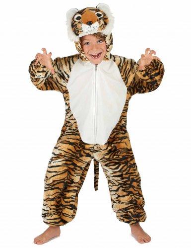 Costume da Tigre peluche per bambino-4