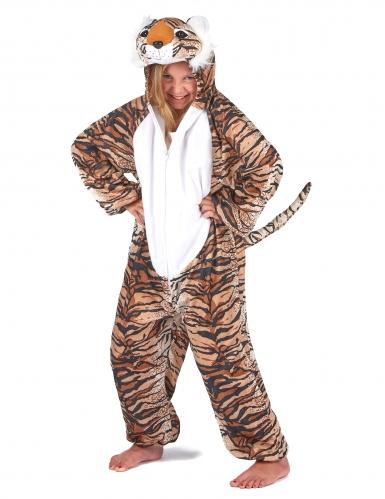 Costume da Tigre peluche per bambino-6