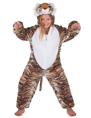 Costume da Tigre peluche per bambino-7