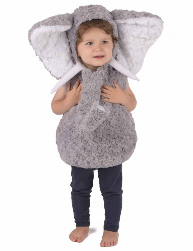 Costume da elefante grigio per bambino
