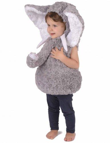 Costume da elefante grigio per bambino-1
