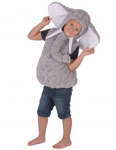 Costume da elefante grigio per bambino-2