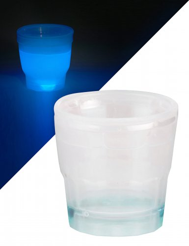 Bicchiere per shot blu luminoso 50 ml