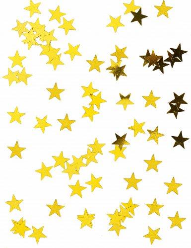 Coriandoli stelle oro metallizato 50g