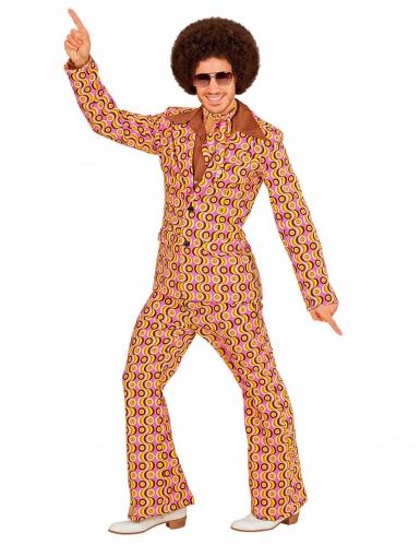Costume disco retro anni 70 per uomo-1