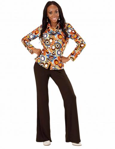 Camicia Disco retro anni 70 per donna