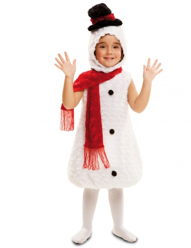 Costume pupazzo di neve bambino