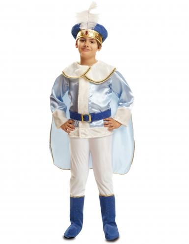 Costume da principe azzurro affascinante bambino