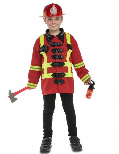 Costume da pompiere con accessori per bambino