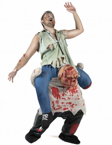 Costume carry me zombie adulto Halloween-1