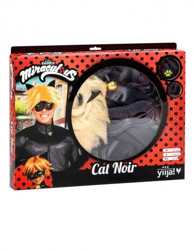 Cofanetto regalo Costume da Chat Noir Miraculous™ per adulto-1