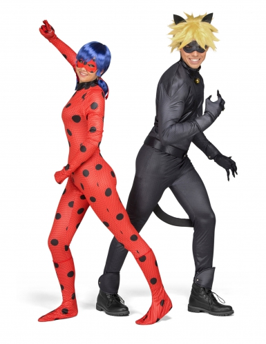 Cofanetto regalo Costume Lady Bug Miraculous™ per adulto-2