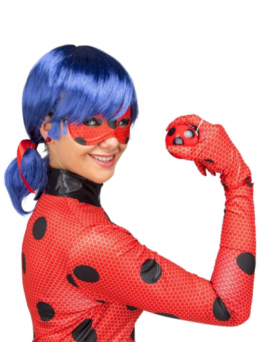 Cofanetto regalo Costume Lady Bug Miraculous™ per adulto-1