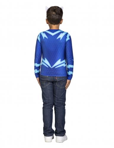 Cofanetto Costume da Gattoboy dei Superpigiamini™ per bambino-2