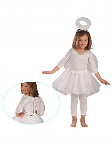 Kit angelo bianco argentato