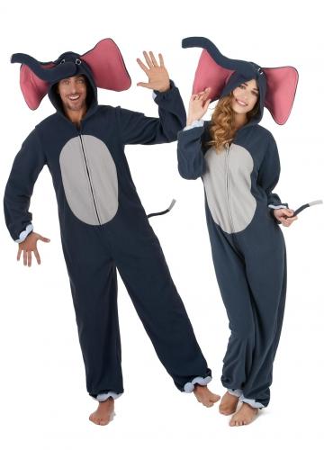 Costume coppia di elefanti adulto