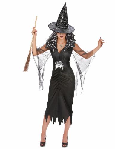 Set costume e accessori Strega per donna Halloween-1