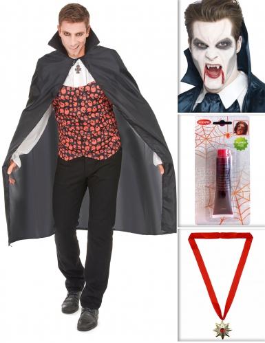 Set costume da vampiro per halloween