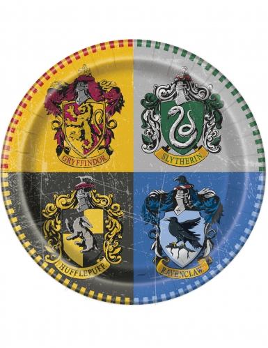 8 Piatti in cartone Harry Potter™ 23 cm