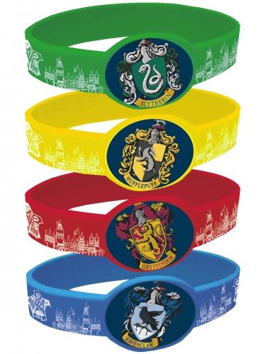 4 Braccialetti elastici Harry Potter™