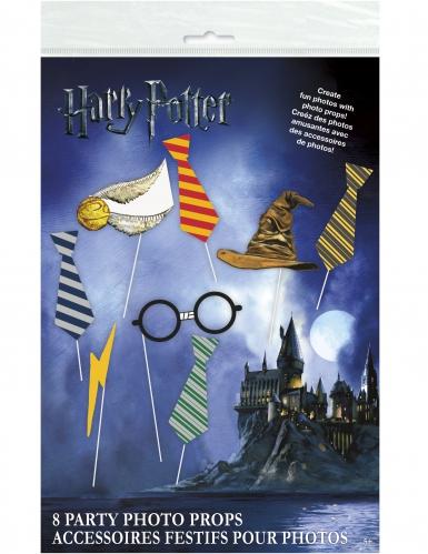 Kit Photobooth 8 pezzi Harry Potter™-1