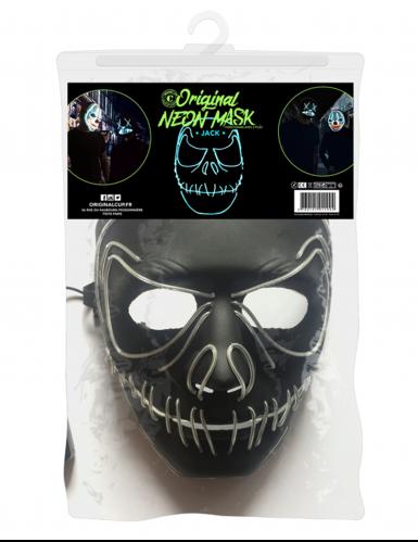 Maschera neon bocca cucita-1