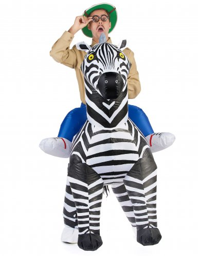 Costume carry me zebra per adulti-1