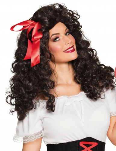 Parrucca riccia da gitana per donna