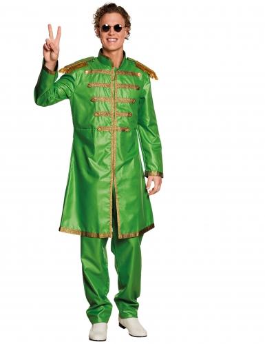 Costume pop verde per uomo
