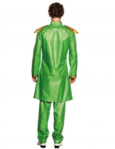 Costume pop verde per uomo-1