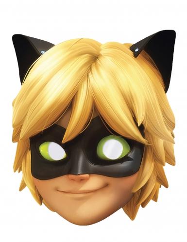 Maschera in cartone Chat Noir Miraculous Lady Bug™ per bambina