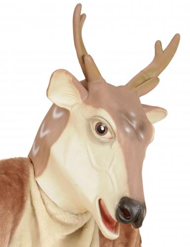 Maschera da renna in lattice - Natale