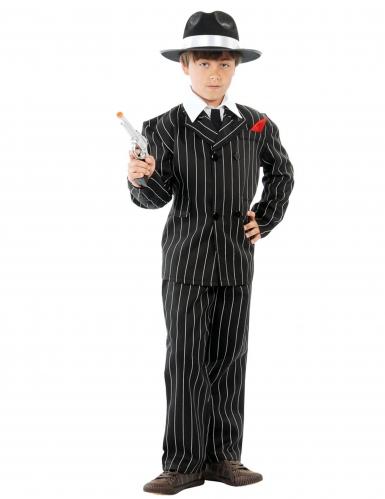 Costume da Gangster mafioso anni 50 per bambino