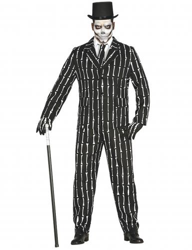 Costume da Mr Skeleton per uomo