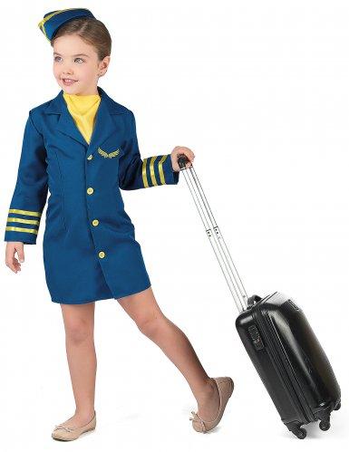 Costume da Hostess di volo per bambina-1