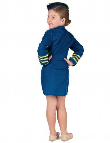 Costume da Hostess di volo per bambina-2