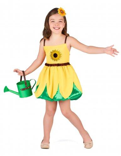 Costume da girasole per bambina