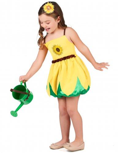Costume da girasole per bambina-1